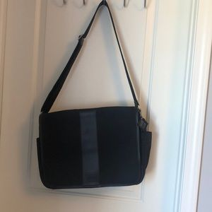 Coach black messanger bag